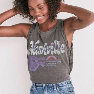 Lucky Brand Nashville Side Lace Up Tank